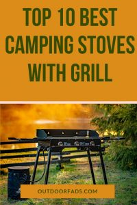 The Best Camping Stove Grill Combo