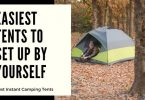 Easiest Tents to setup by yourself