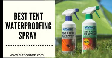 best tent waterproofing spray