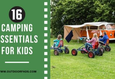 16 Camping Essentials for Kids