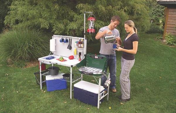Coleman-Pack-Away Deluxe Camp Kitchen